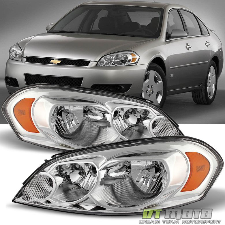 2006 2013 chevy impala 07 monte carlo headlight headlamps. Black Bedroom Furniture Sets. Home Design Ideas