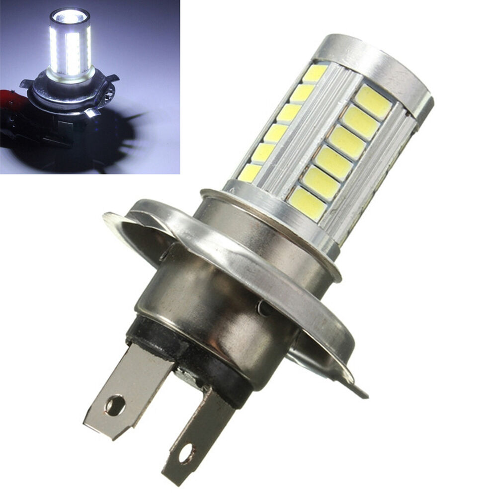 1x H4 5630 33smd Led Bulbs Car Led Fog Lights Motorcycle Led Bulb Headlight New Ebay