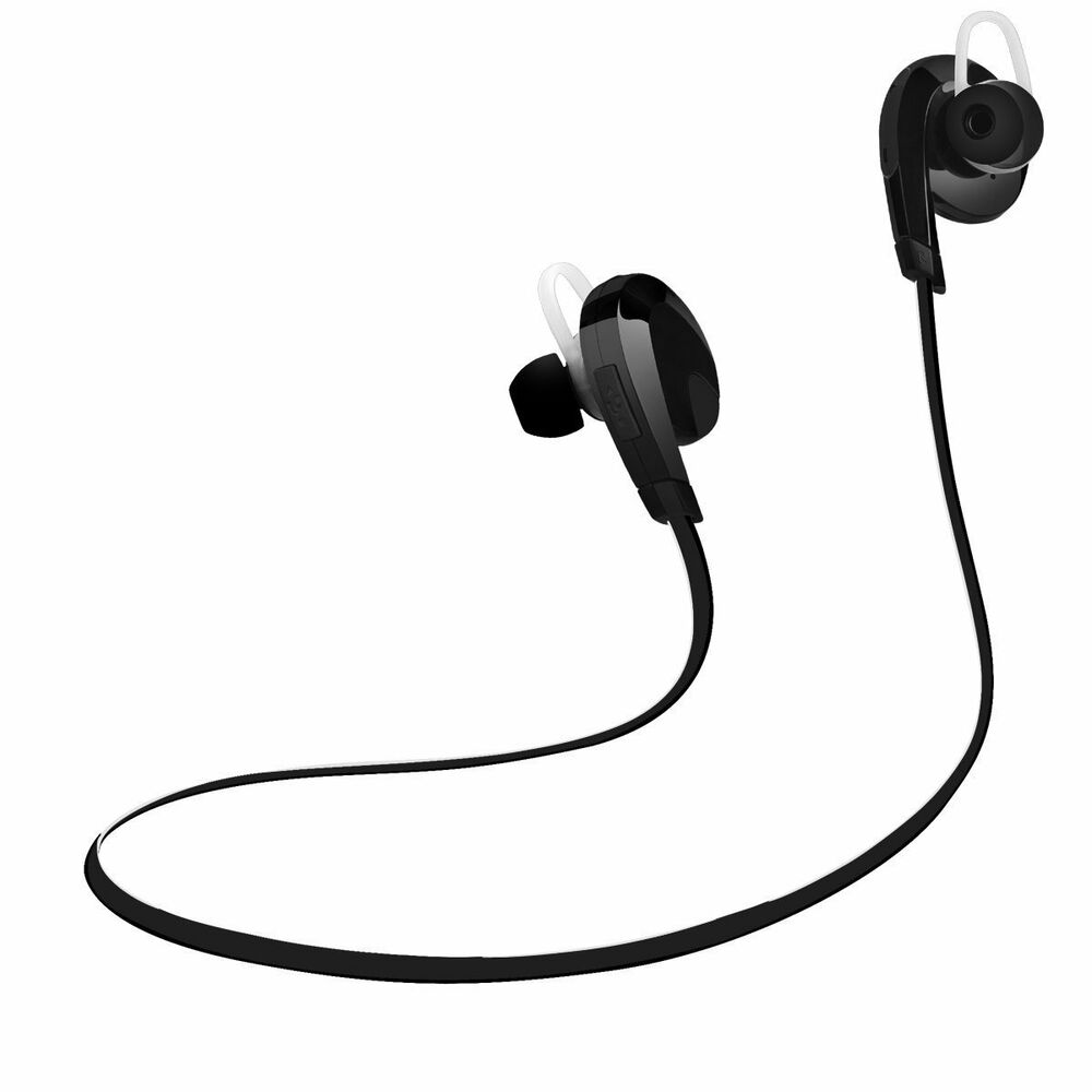 apple iphone 7 7 plus bluetooth headsets wireless noise cancelling sport mic new ebay. Black Bedroom Furniture Sets. Home Design Ideas