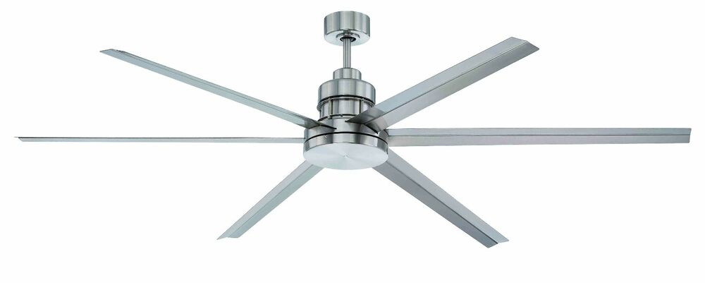 Craftmade 72 Quot Mondo Brushed Nickel Dc Remote Damp Rated Ceiling Fan Mnd72bnk6 Ebay