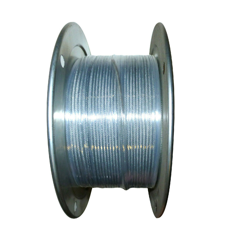 1 8 3 16 7x7 Vinyl Coated Aircraft Cable X 250ft Control