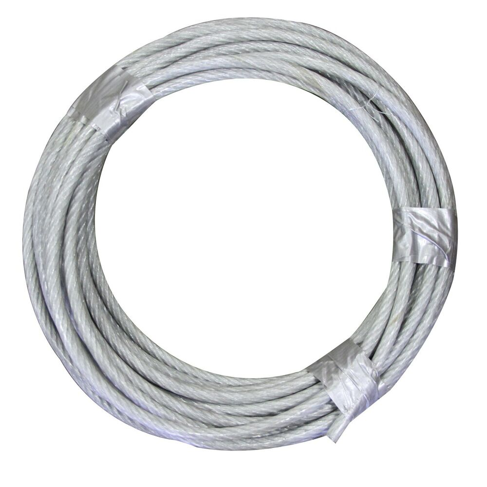 1 16 3 32 7x7 Vinyl Coated Aircraft Cable X 250ft Control