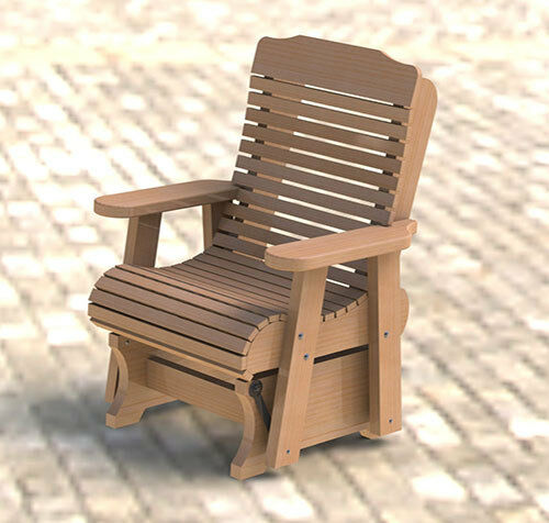 Wooden Glider Rocker Building Plans 001 Easy To Build