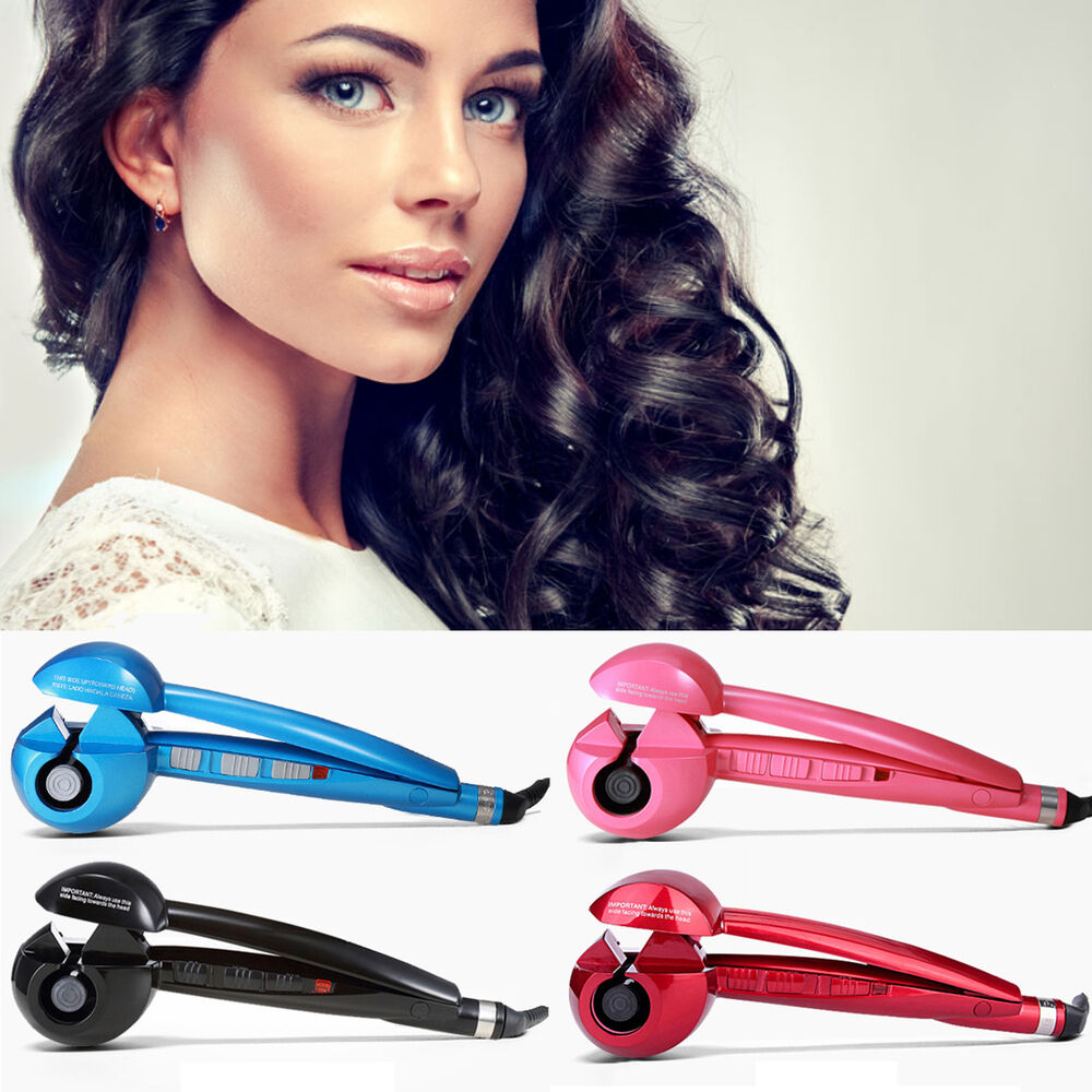 styling hair with rollers salon magic automatic hair styling curling curler iron 7248
