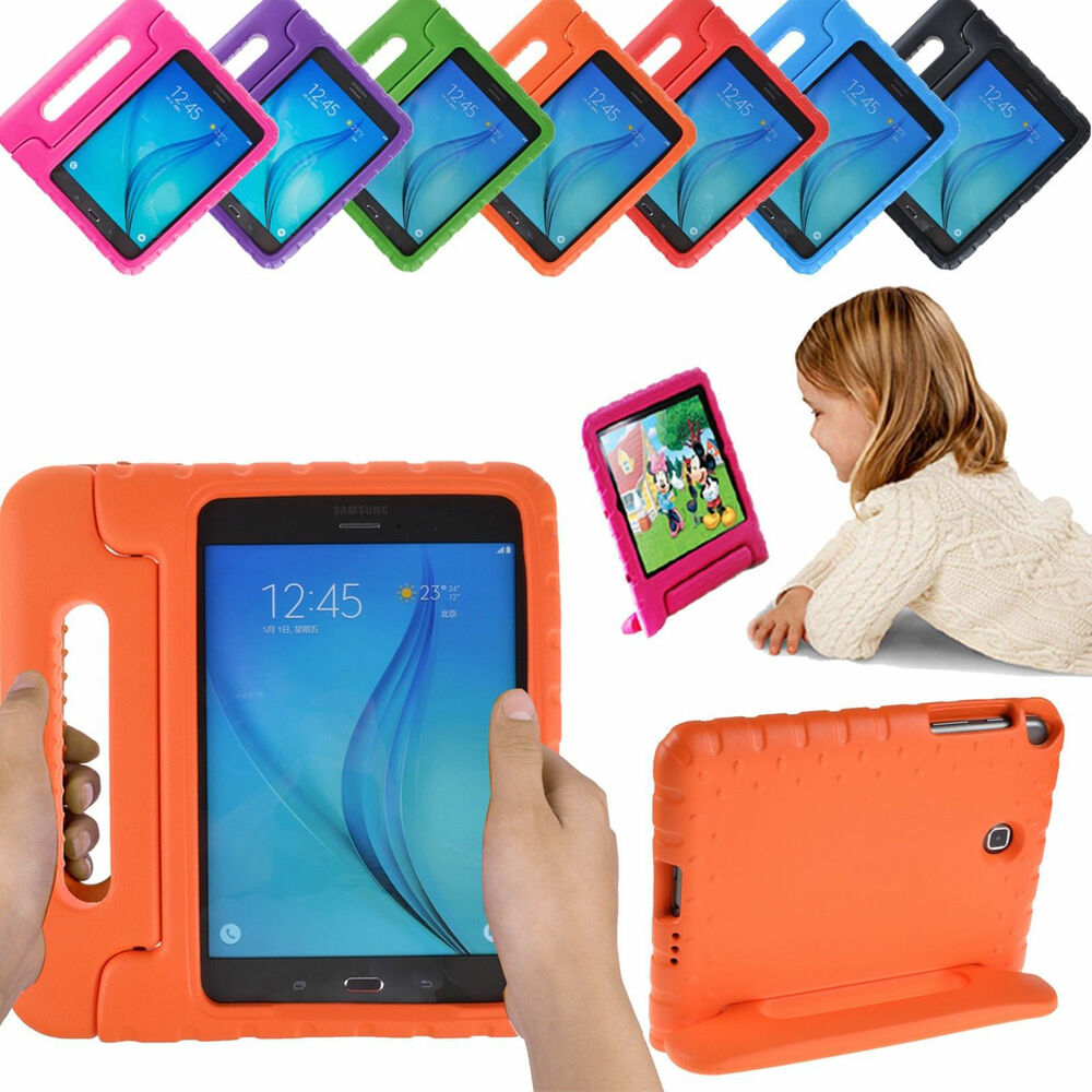Kids Handle Shock Proof Soft EVA Foam Stand Case Cover For ...
