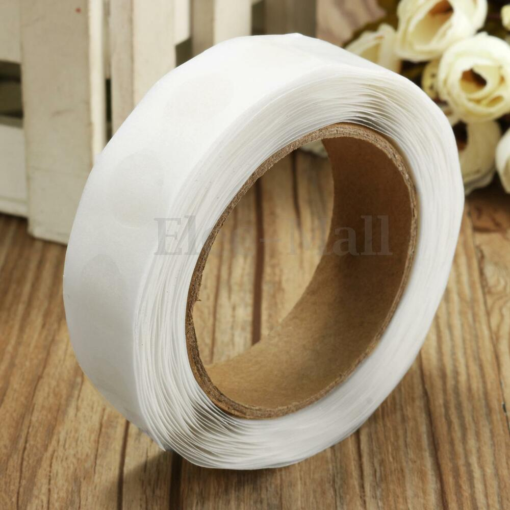 12mm 250 Dots Glue Double Sided Removable Adhesive Tape