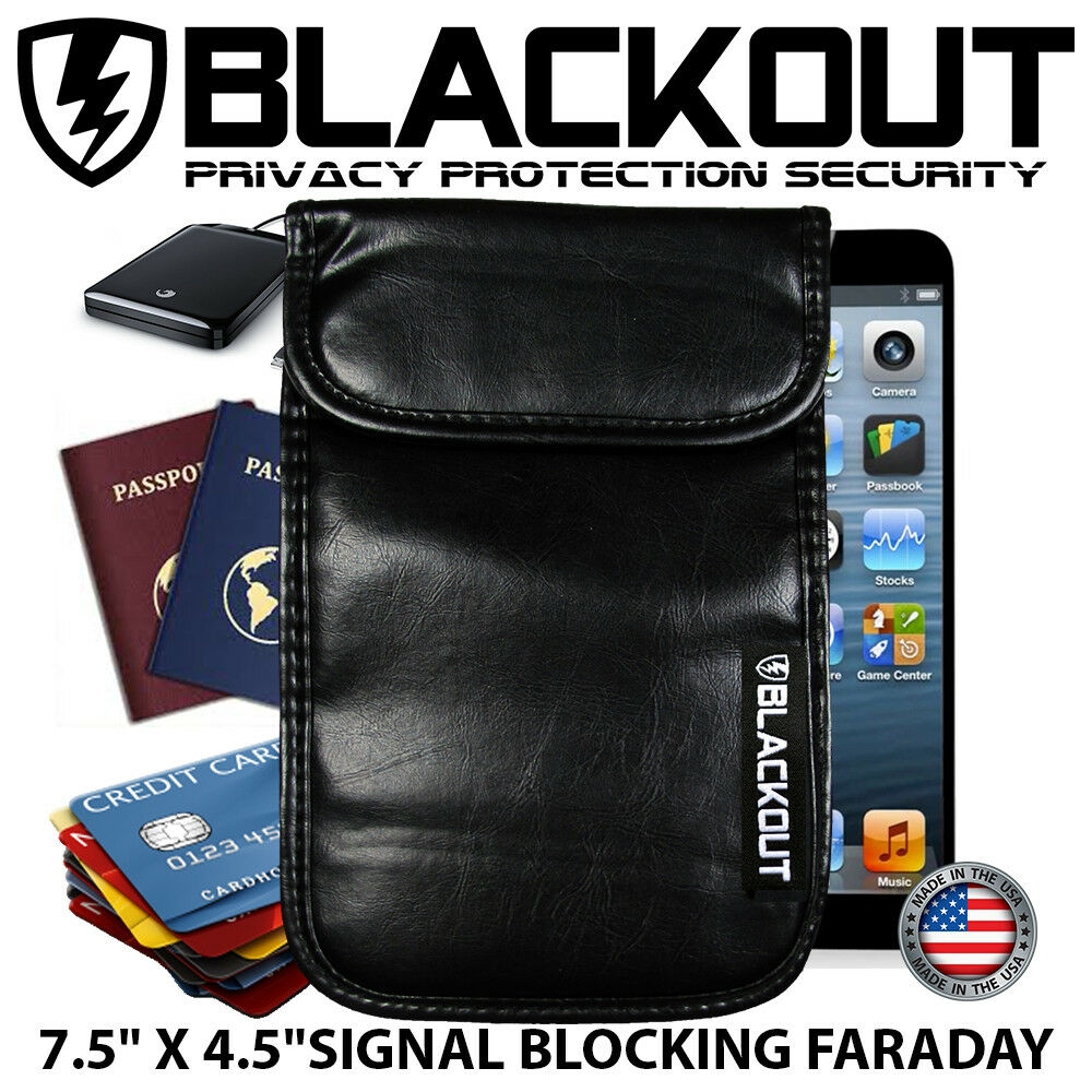 Bag to block cell phone signal - laptop signal blocker for house