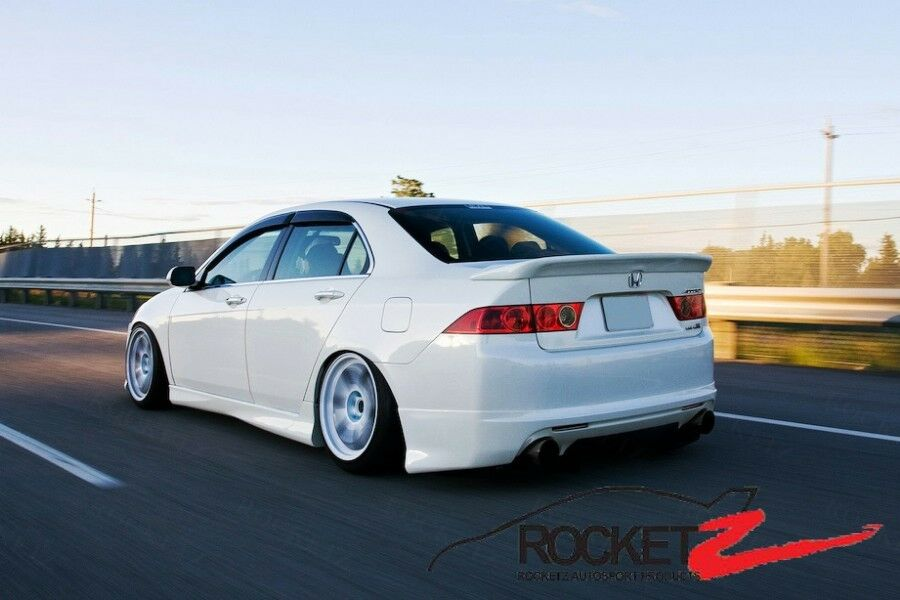 04 08 Acura Tsx Mugen Style Trunk Wing Spoiler Usa Canada