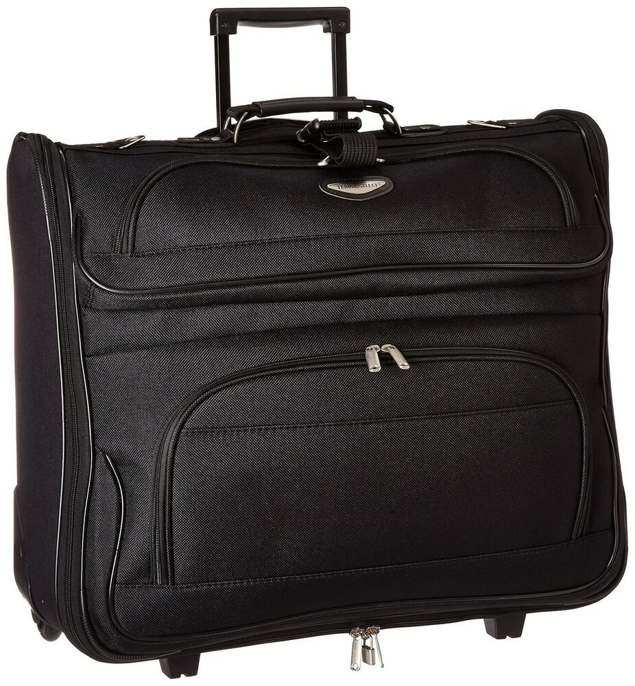 garment_New Travel Business Rolling Bag Garment Suit Jacket Suitcase Clothes Men UNISEX | eBay