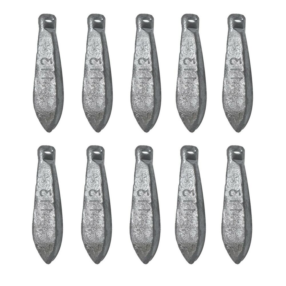 5 10 pcs shape weights lead sinkers pure lead making sea for Types of fishing sinkers
