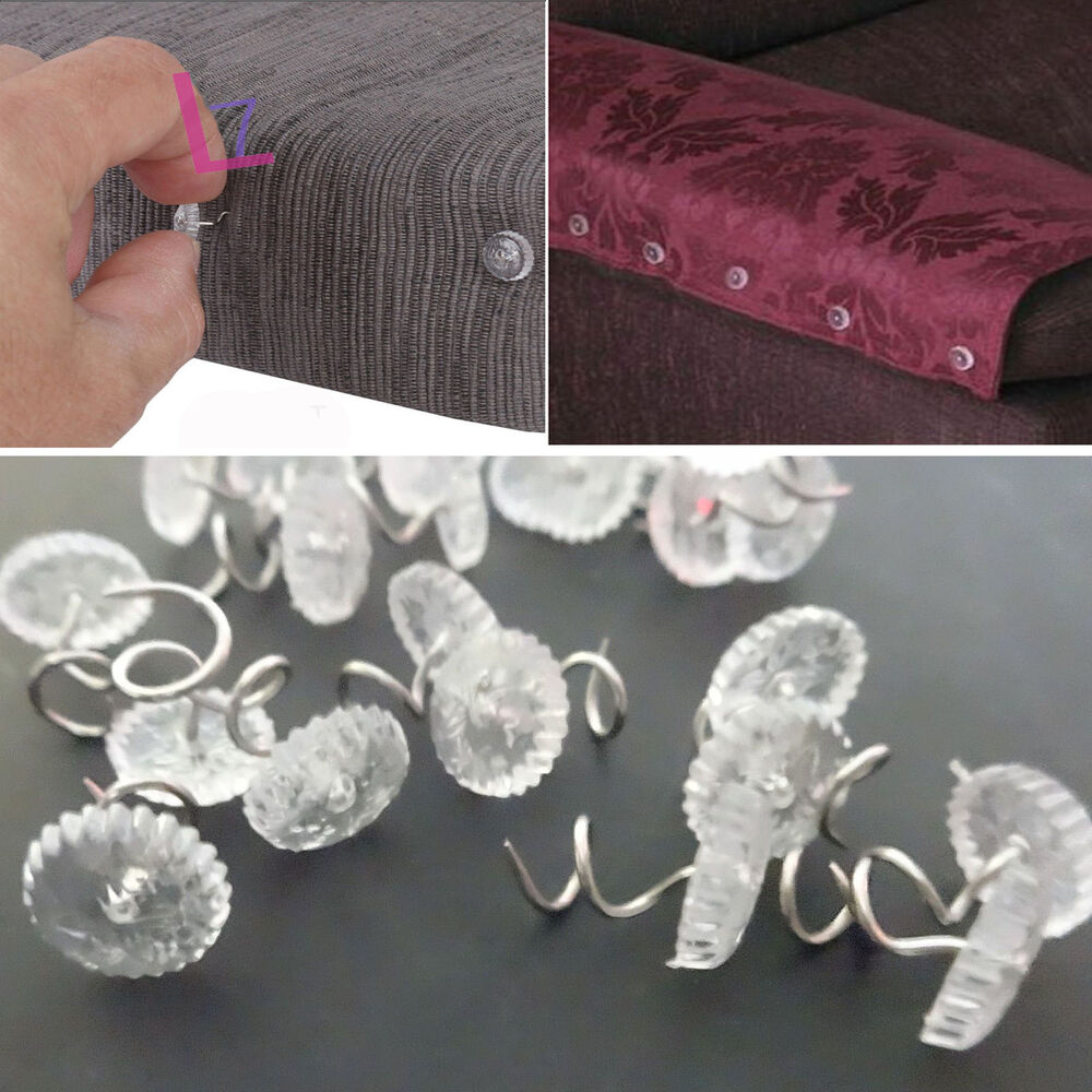 50pcs Upholstery Twist Pins Sofa Couch Chair Headliner