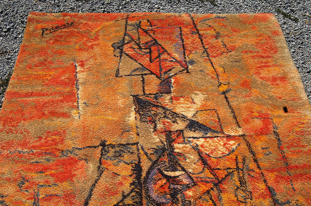 Hang Rug On Wall: Pablo Picasso Rug Wall Hanging Ege Mid Century Modern