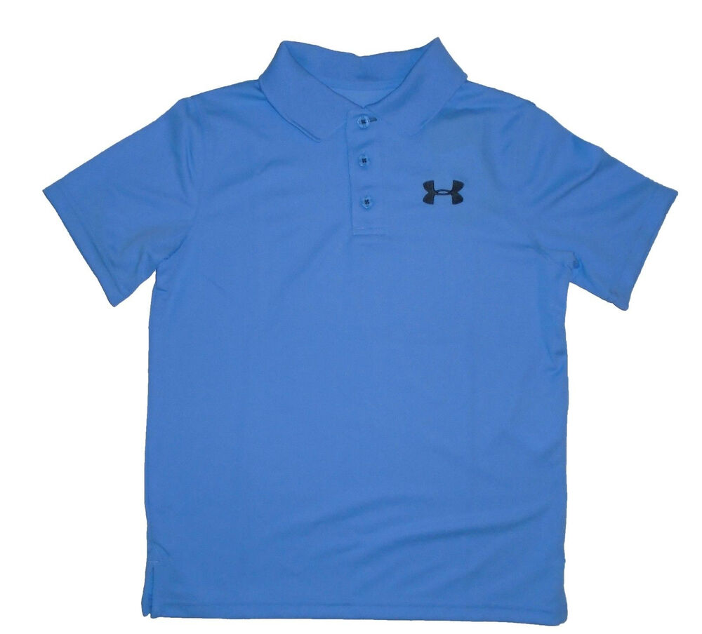 Under armour boys 39 ua performance short sleeve polo shirt for Youth performance polo shirts