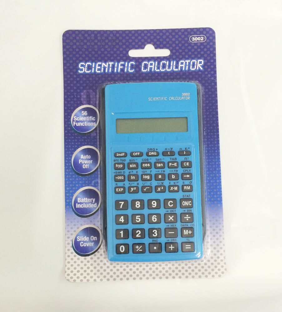 Latest Scientific News: New Scientific Calculator With Slide On Cover ( Color May