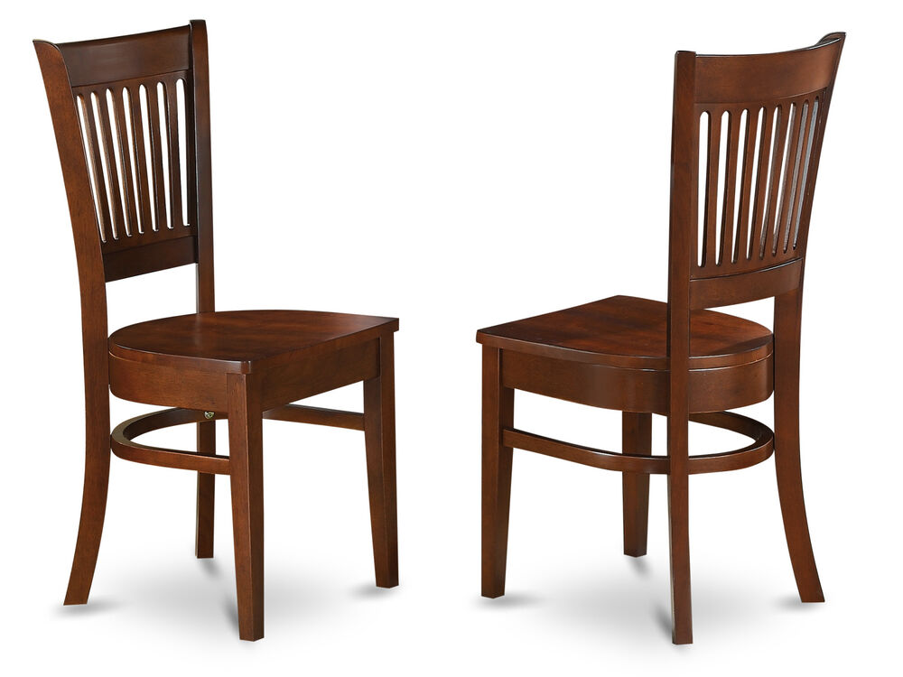 Set of 2 Vancouver dinette kitchen dining chairs w plain  : s l1000 from www.ebay.com size 1000 x 750 jpeg 74kB