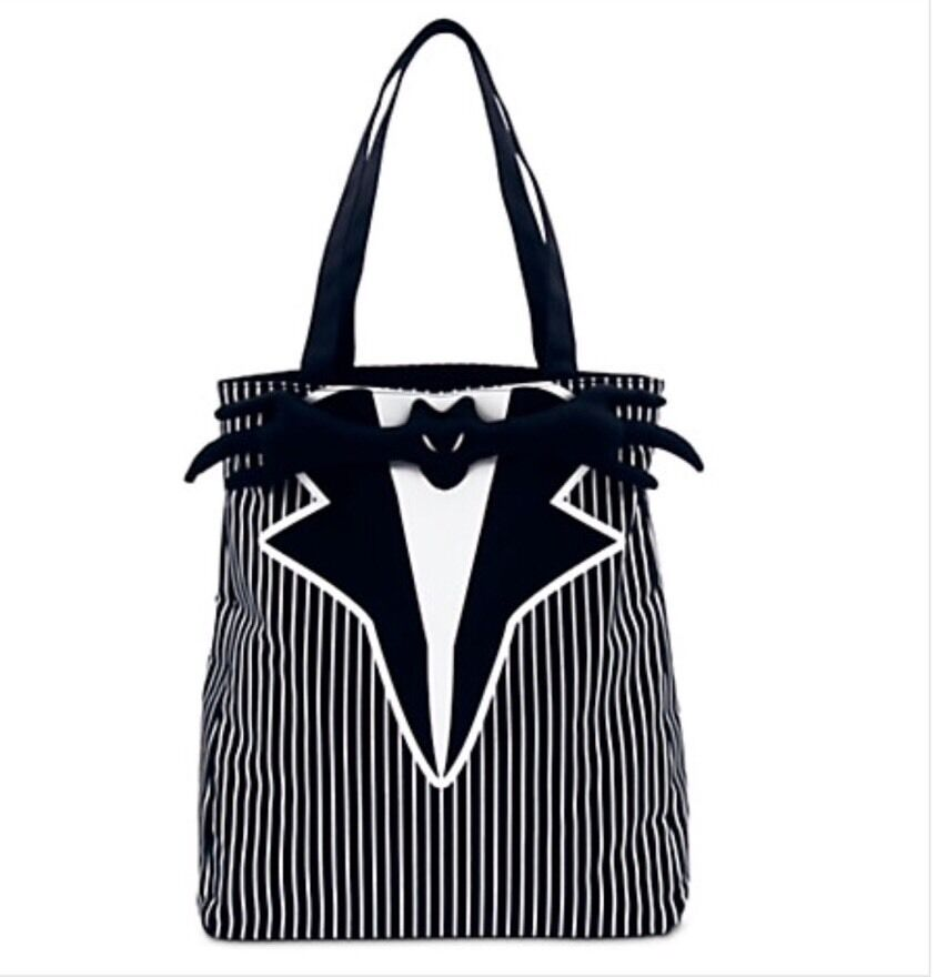 Nightmare Before Christmas Gifts Uk: Disney Jack Skellington Tuxedo Tote Bag The Nightmare