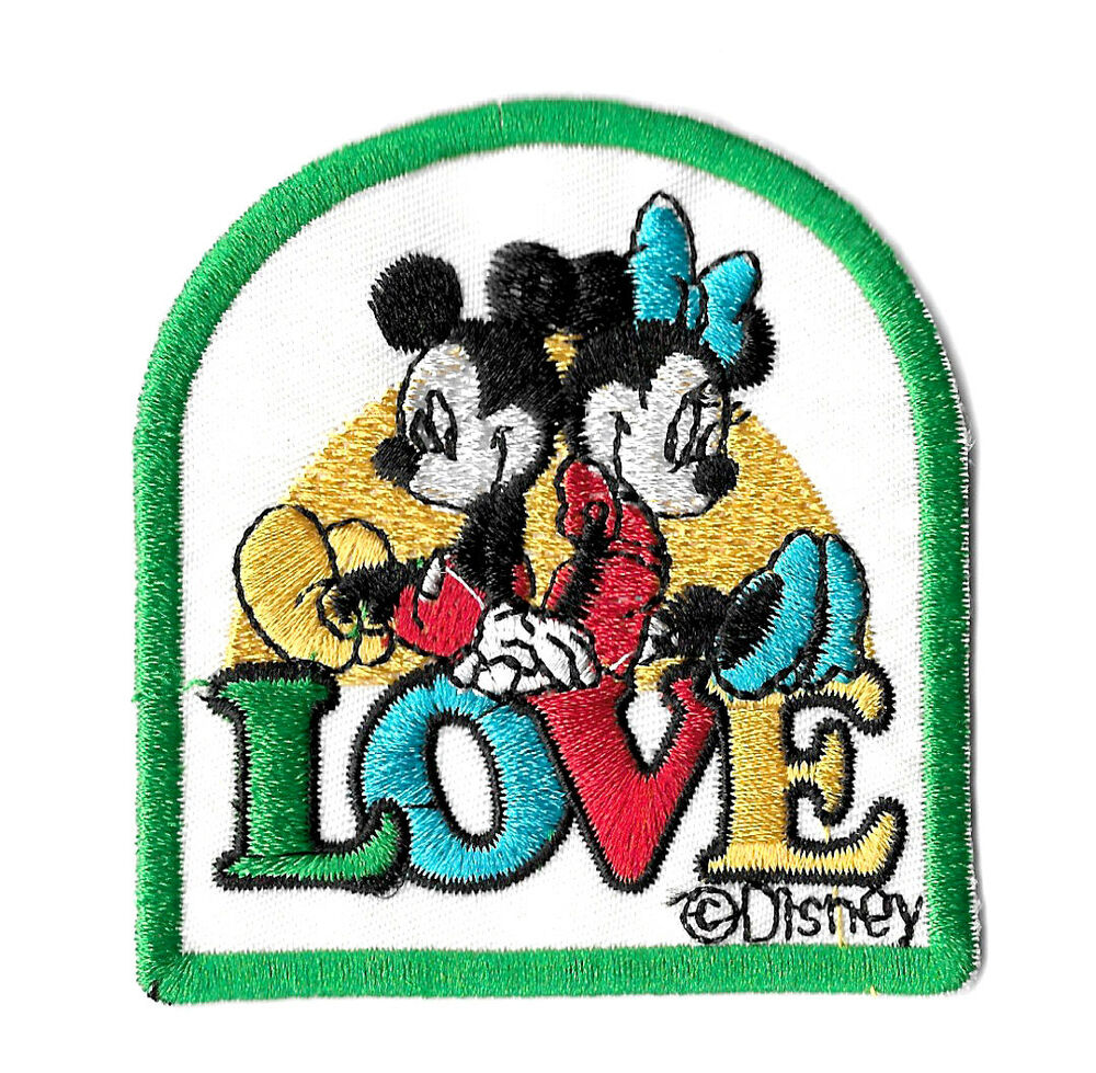 Mickey Mouse and Friends Iron on Patch