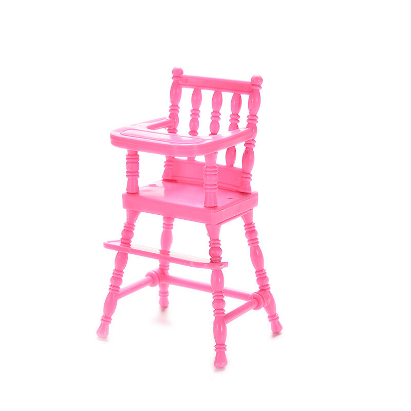 Baby high chairs plastic feeding chair babie dollhouse for Cute toddler chairs