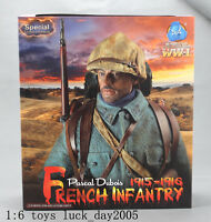DID WWI French Infantry 1915-1916 Pascal Dubois Special Edition 1/6 IN STOCK