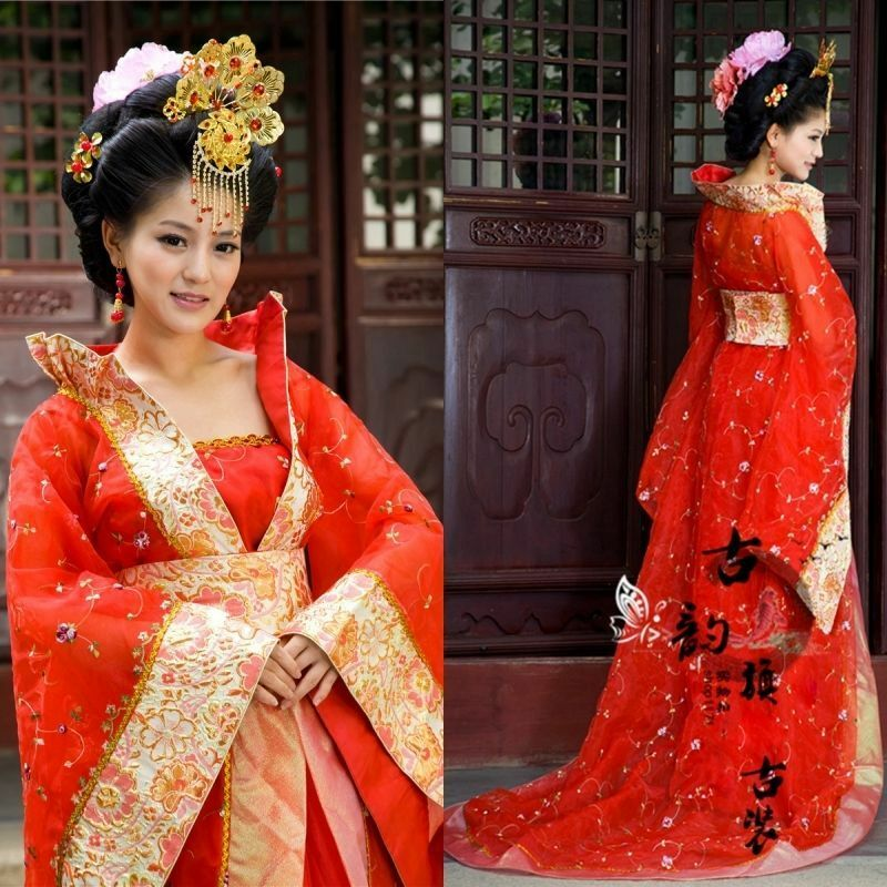 Beautiful Chinese Traditional Clothing Characteristic Dress New Style Of Women