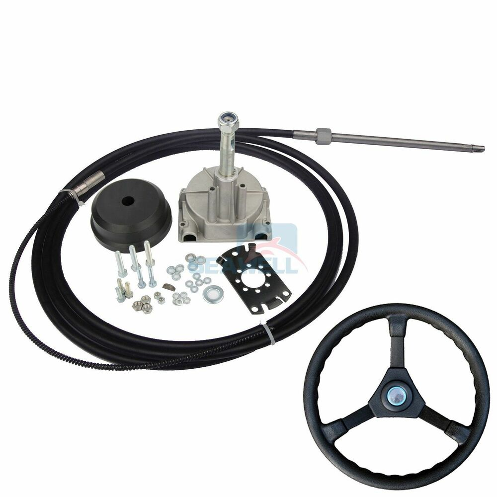 14ft Boat Steering System Single Turbine Rotating W
