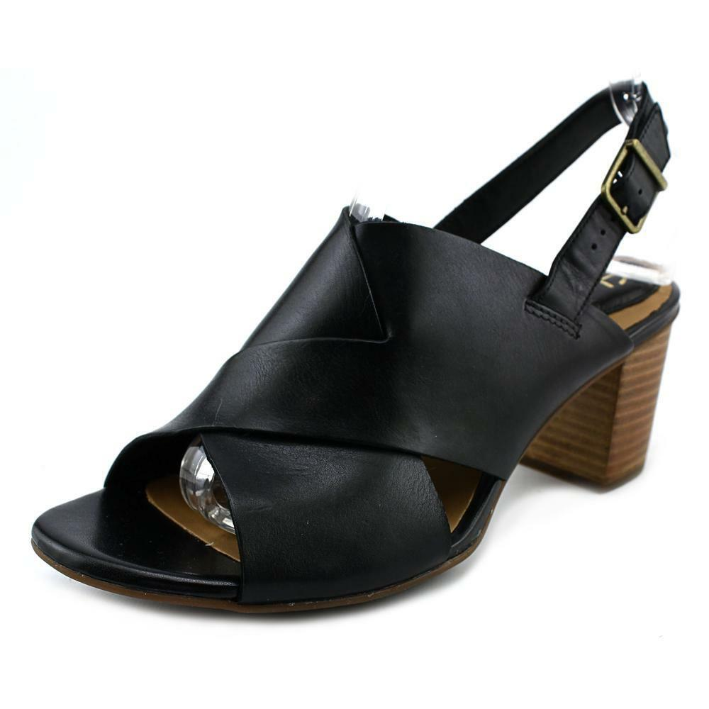 Clarks Black Slingback Shoes