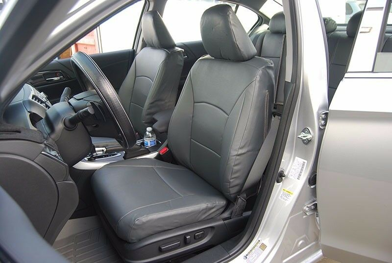 HONDA ACCORD 2013 2016 CHARCOAL SLEATHER CUSTOM MADE FIT