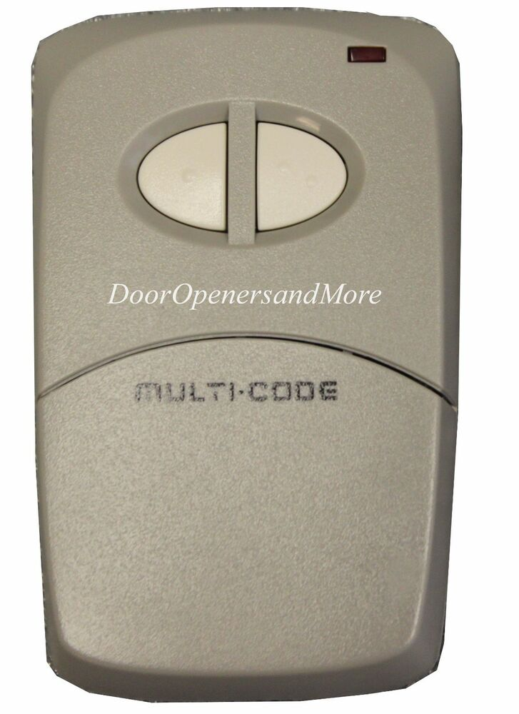 Multi code 4120 garage door opener gate opener remote ebay - Buy garage door opener remote ...