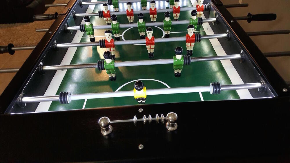 Portuguese Home Edition Soccer Foosball Table Matraquilhos