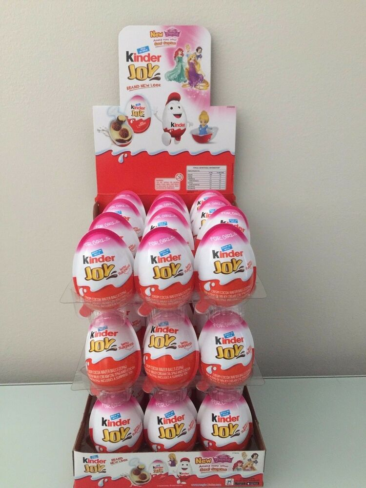 Kinder Joy with Surprise Eggs in Toy & Chocolate For Girls ...