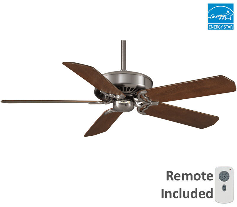 Casablanca 54 Quot Panama Dc Brushed Nickel Remote Ceiling Fan