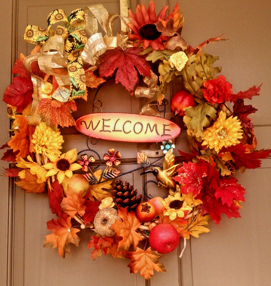 Handmade everyday all occasion grapevine wreath fall