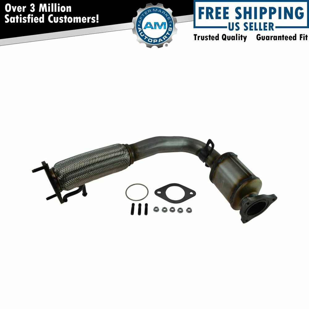 Catalytic Converter With Flex Pipe & Gaskets For Chevy