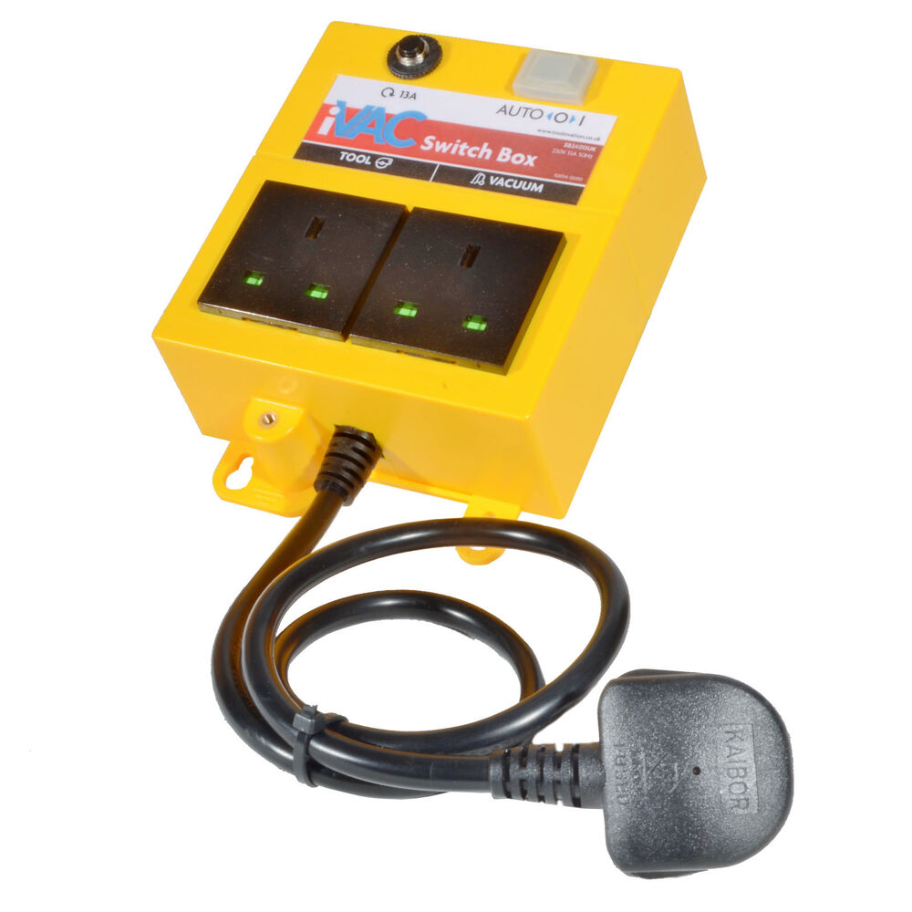 Power Tools For Cars : Vacuum auto switch box control your with