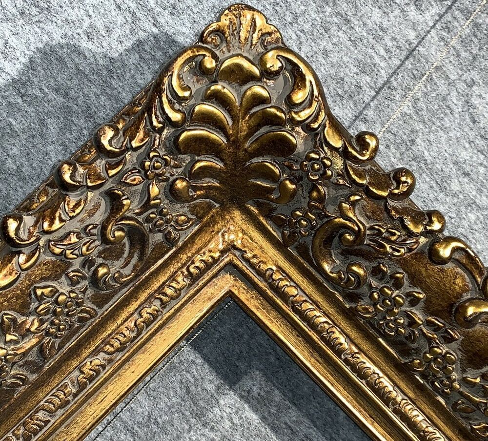 4 75 Quot Picture Frame Antique Gold Bronze Museum Oil