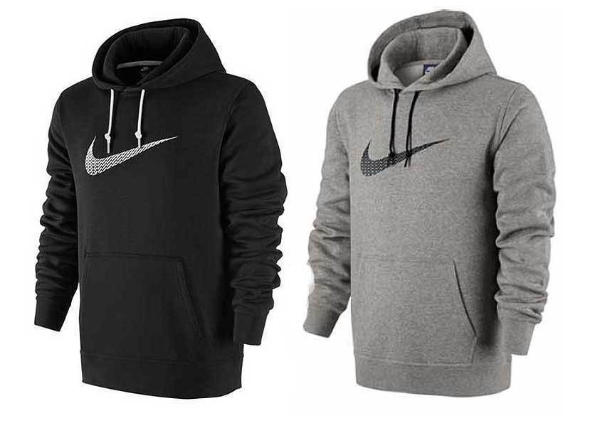nike logo big swoosh hoodie herren kapuzenpullover. Black Bedroom Furniture Sets. Home Design Ideas