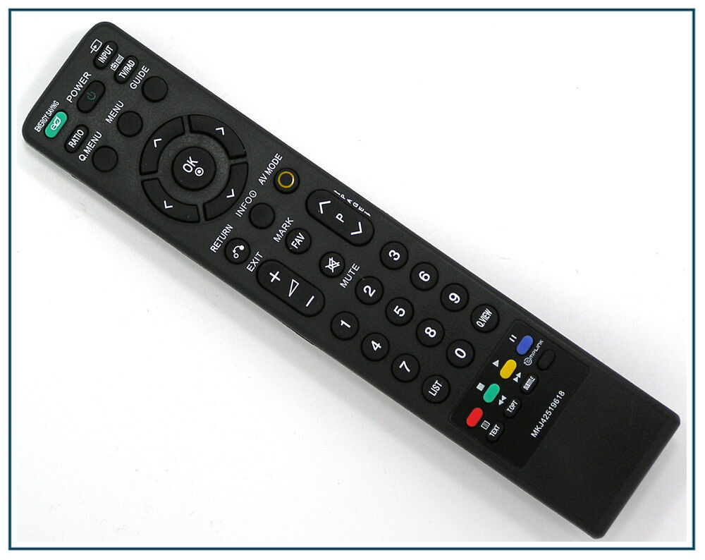 ersatz fernbedienung f r lg mkj42519618 fernseher tv remote control neu ebay. Black Bedroom Furniture Sets. Home Design Ideas