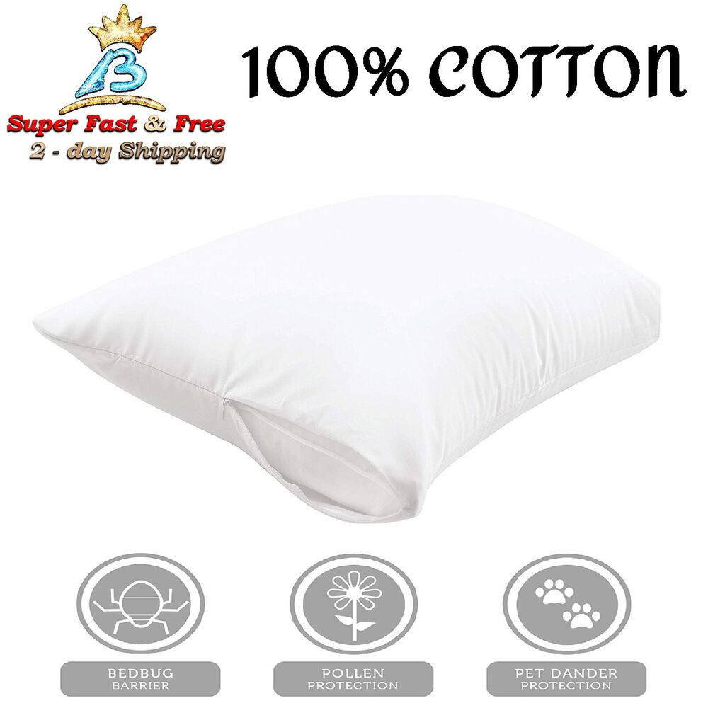 Allergy Pillow Covers Get Better Sleep Pillow Protector
