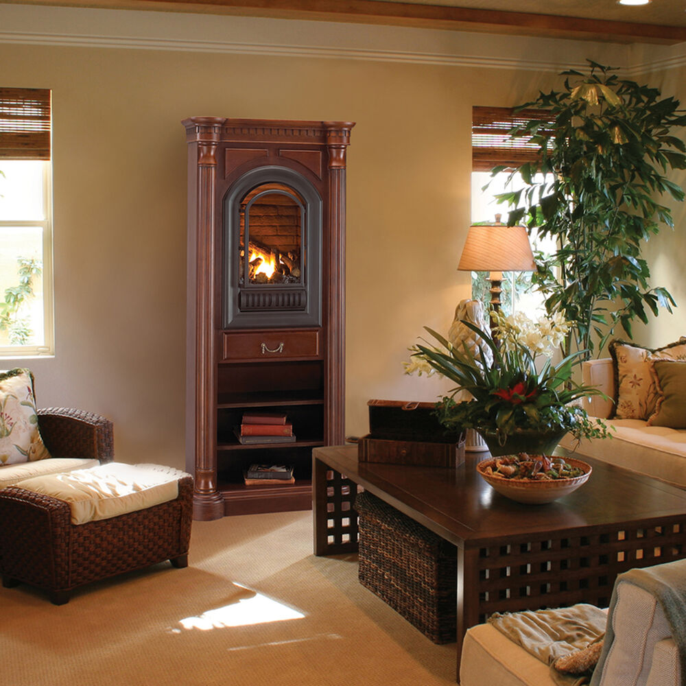Vent Free Gas Fireplace - Hearth Sense - Tower Included ...