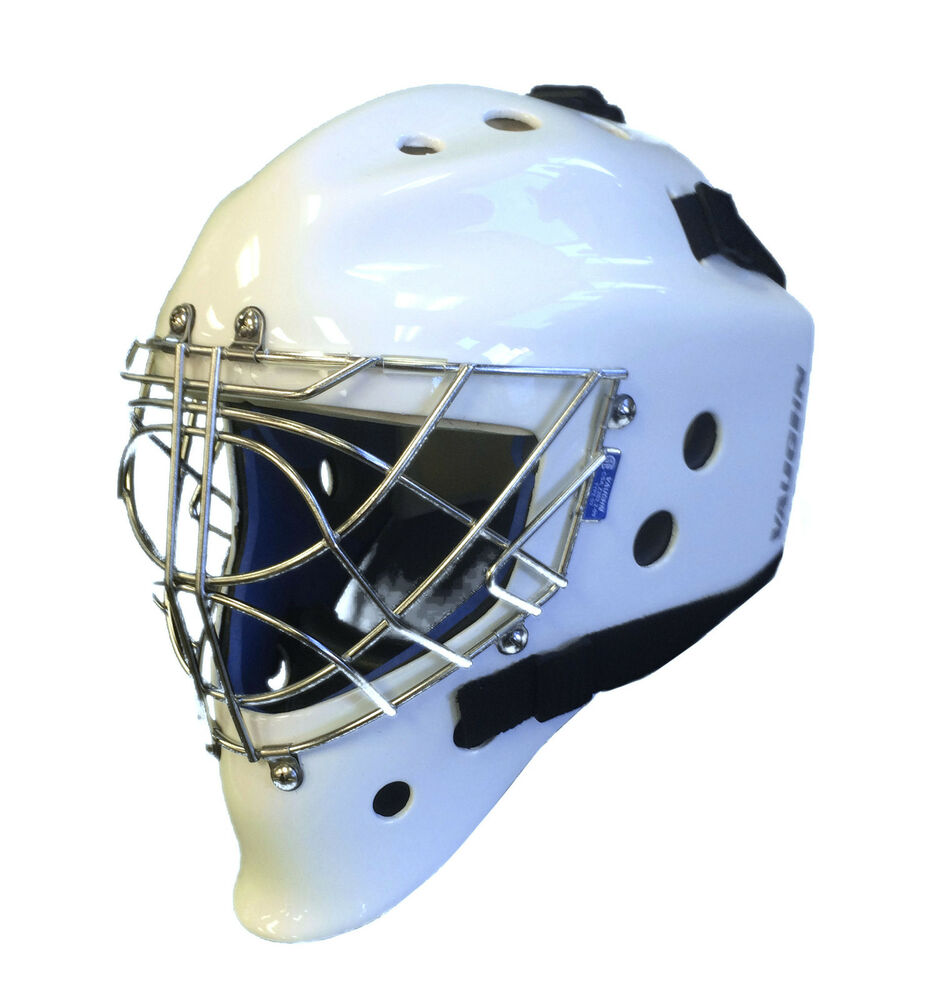 New Vaughn 9500 Sr Cat Eye goal mask white senior large ...