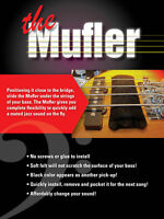 Mufler; The Bass Guitar Mute for that Jazz Sound!!