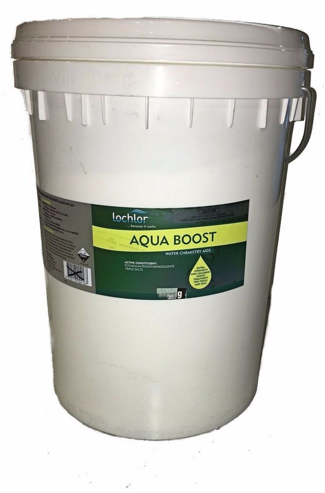 Lochlor aquaboost 20kg powerful non chlorine shock - Can you over shock a swimming pool ...
