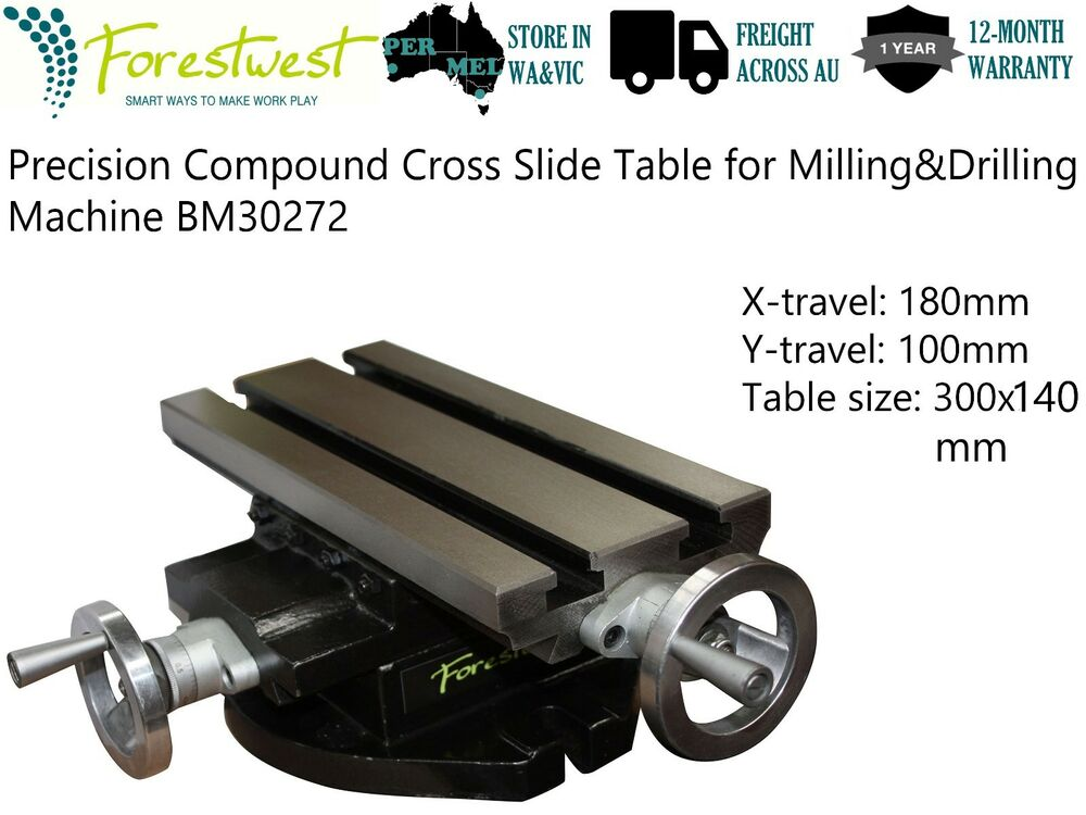300 140mm Precision Compound Cross Slide Table Milling