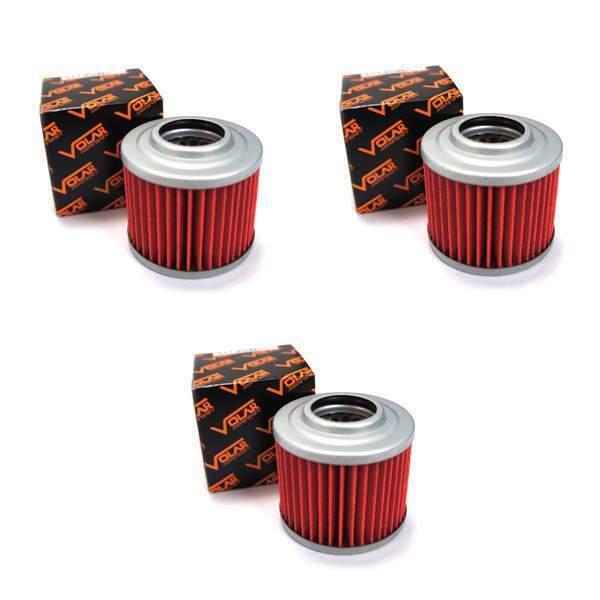 2000-2007 BMW F650GS Oil Filter - (3 Pieces)