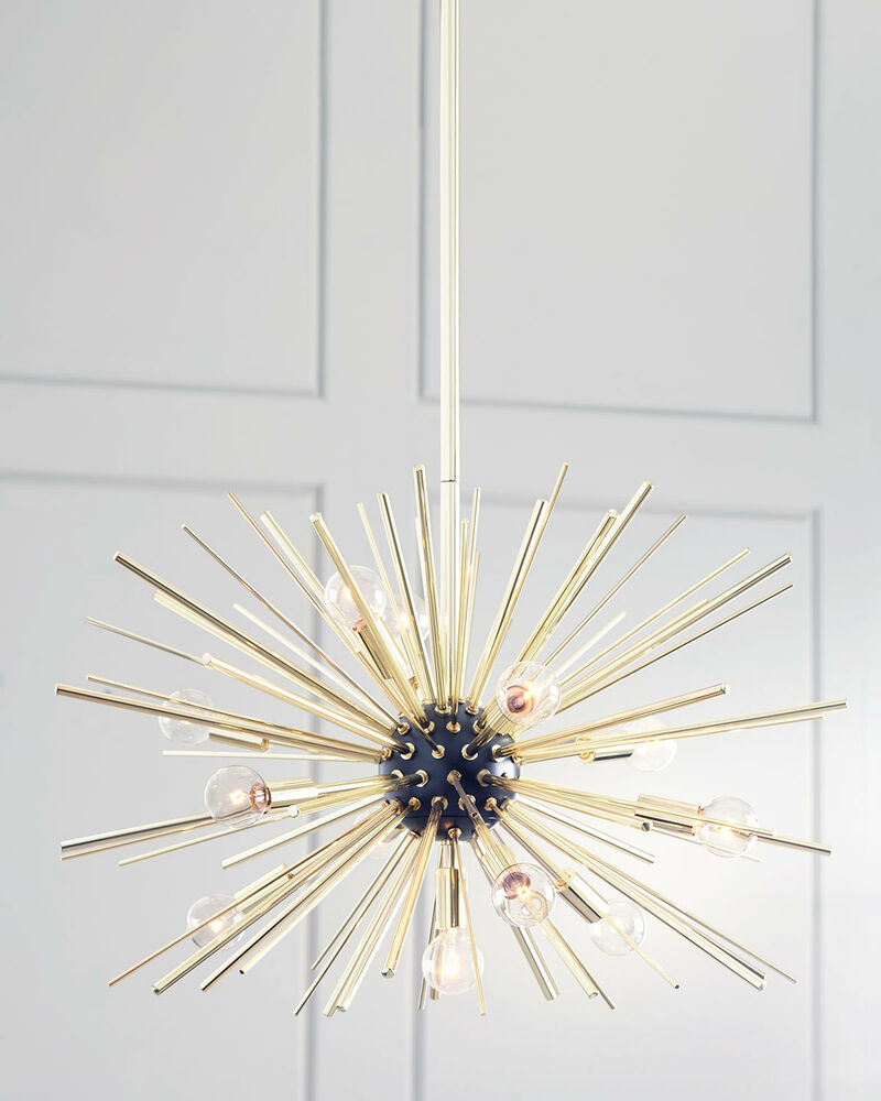 Arteriors Zanadoo Replica Chandelier Starburst Orbit