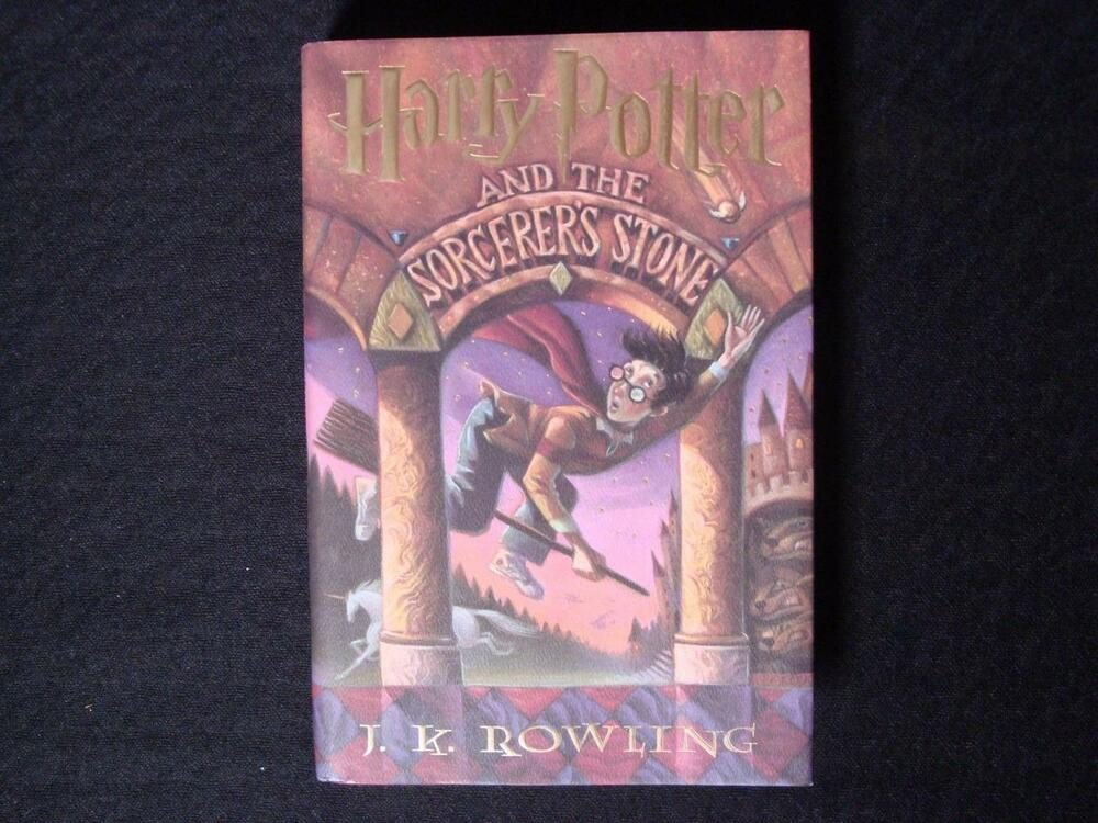 a book report in j k rowlings harry potter and the sorcerers stone Abebookscom: harry potter and the sorcerer's stone (9780590353403) by jk rowling and a great selection of similar new, used and collectible books available now at.
