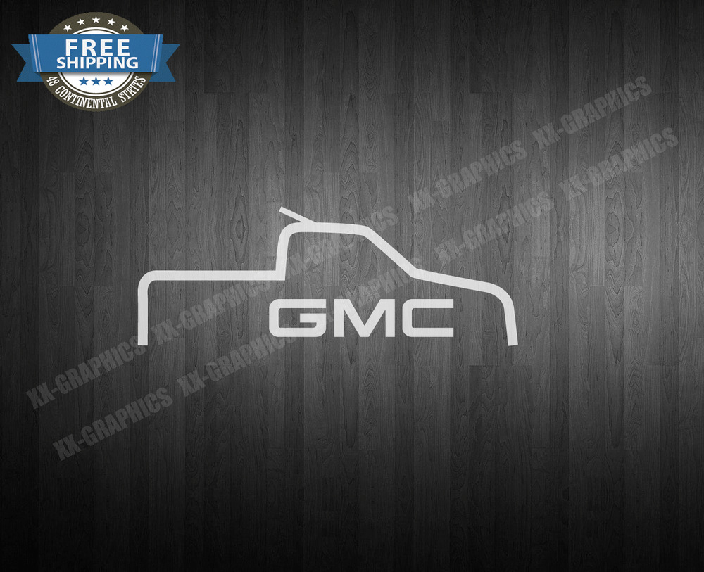 GMC Decal EBay - Truck decals and stickers
