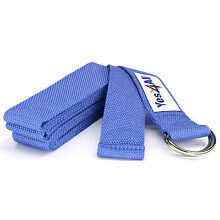 Yes4All Fitness 2x Yoga Strech Strap D-Ring belt 8Ft Coton Gym Exercise