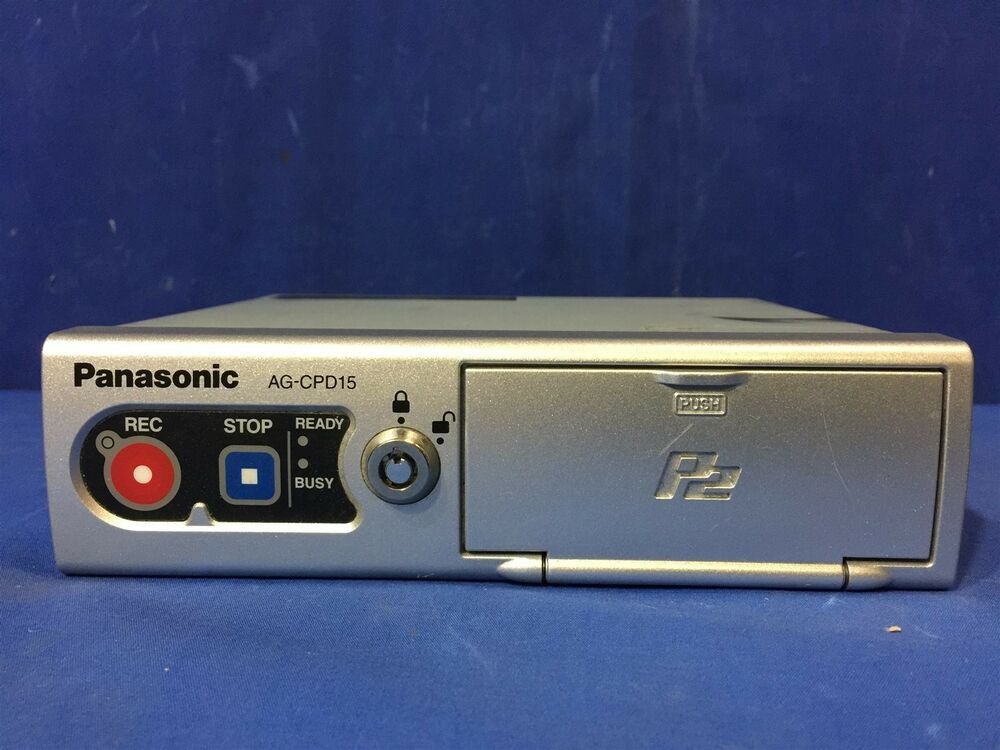 Panasonic Toughbook Arbitrator Ag Cpd15p Police Car Video