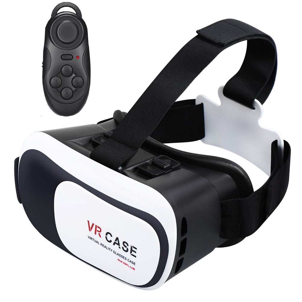 virtual reality iphone reality vr headset 3d glasses with remote for 1468